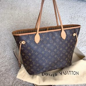 Authentic Louis Vuitton monogram MM neverfull